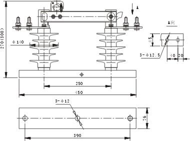 (h)gw9型户外交流高压隔高开关