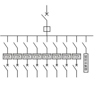 单相十二位机械式预付费电表箱(左右结构)